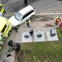 Norvegia, ex poliziotto ruba ambulanza e si lancia sui pedoni. Arrestato con la complice
