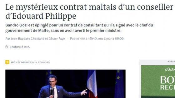 Sandro Gozi, renziano, assunto dai francesi e ora consulente di Malta. Governo francese: Dia spiegazioni
