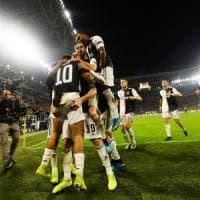 Juventus-Lokomotiv Mosca 2-1, Dybala ribalta il match con due minuti da