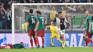 Dybala, serata da urloJuve-Lokomotiv 2-1Crollo dell'AtalantaMan City vince 5-1