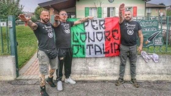 """Tifo, nuova sigla ultrà della Juve: ecco i neofascisti """""""