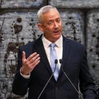"""Israele, incarico a Gantz: """"Ora un governo di riconciliazione nazionale"""""""
