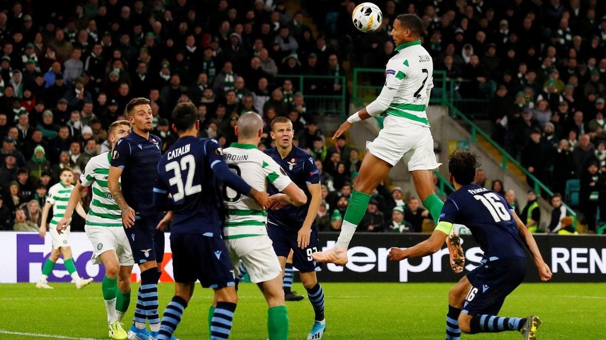 Celtic-Lazio 2-1: Christie e Jullien ribaltano i biancocelesti, ora terzi