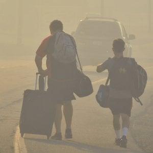 Incendi in California, evacuate 50mila persone