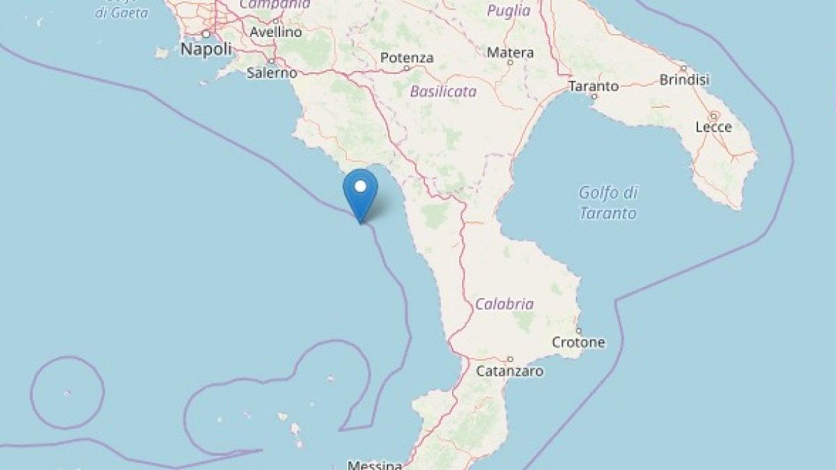 Terremoto in Calabria, scossa di magnitudo 4,4: paura a Scalea