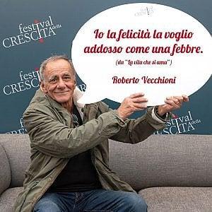 Roberto Vecchioni al Festival della Crescita di Milano (17-19 ottobre 2019)