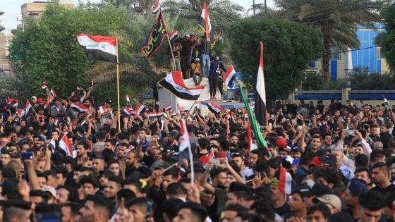 Iraq, riprendono le proteste contro il governo: almeno 21 i morti