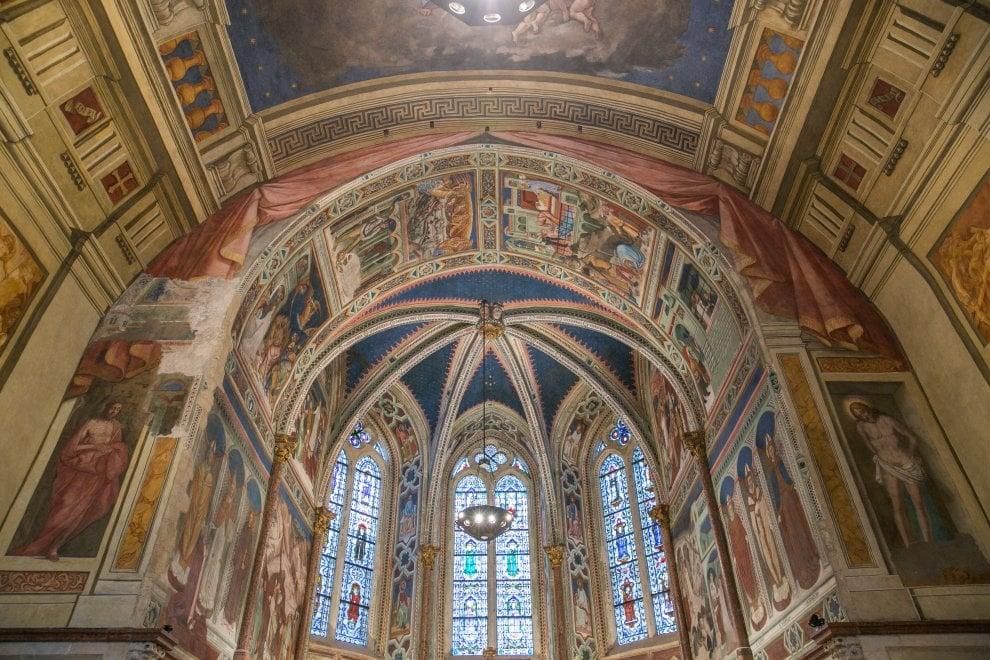 Assisi, tornano a splendere gli affreschi della basilica distrutti dal terremoto del 1997
