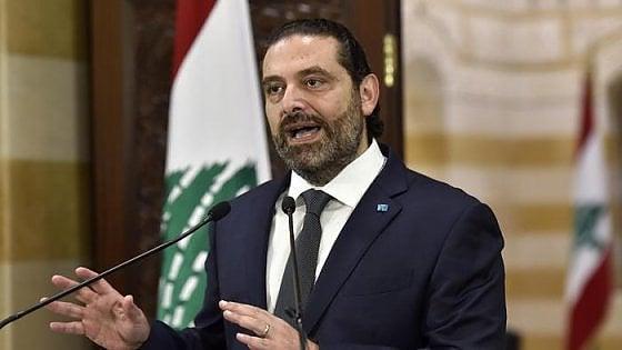 Libano, premier Hariri annuncia le dimissioni dopo le proteste