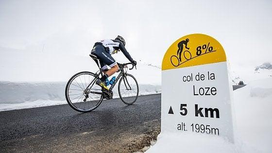 Il Tour de France e la scelta car free: una ciclabile per la scalata più alta e dura