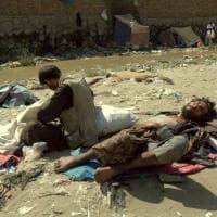 Afghanistan, Kabul: storiditi dalla droga sotto il ponte di Pule Sukhta