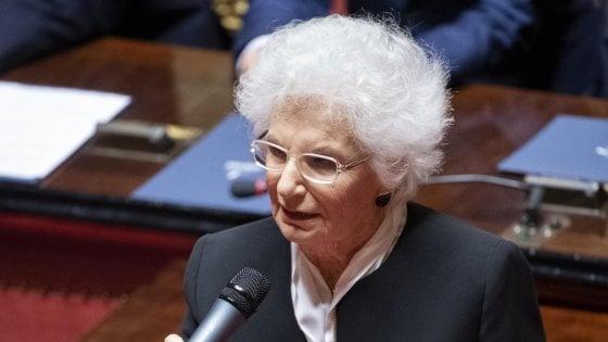 Antisemitismo e odio razziale, via libera alla 'commissione Segre', ma è polemica per l'astensione del centrodestra