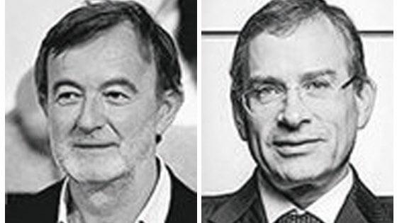 A destra Mauro Vandini ad Marazzi Group, a sinistra Gerhard Dambach ad Bosch Italia