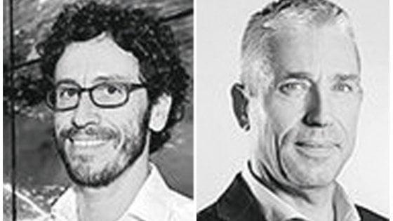 A destra Alberto Calcagno amm. del. Fastweb, a sinistra Guido Monferrini ad Mediaworld Italia