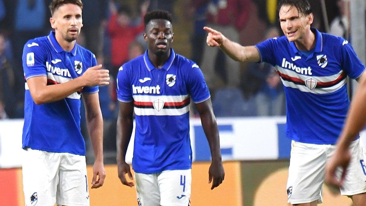 Sampdoria-Lecce 1-1: Ranieri ancora a secco di vittorie, Ramirez ...