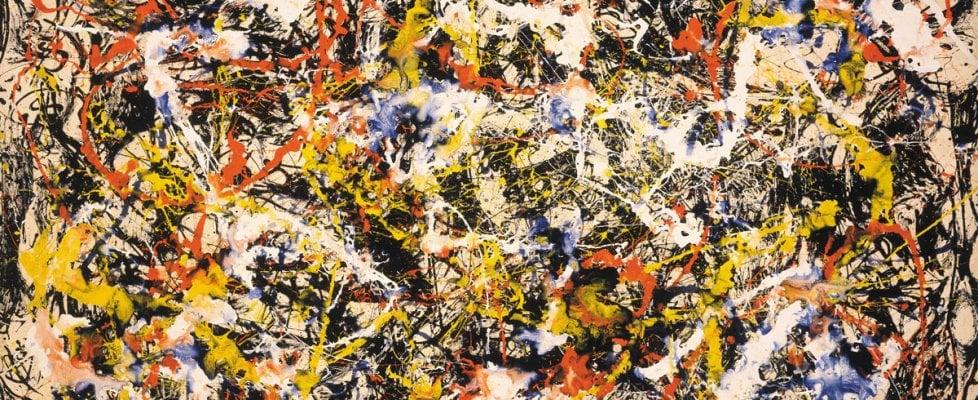 Lo sapevate? Le opere di Pollock seguono le leggi della fisica