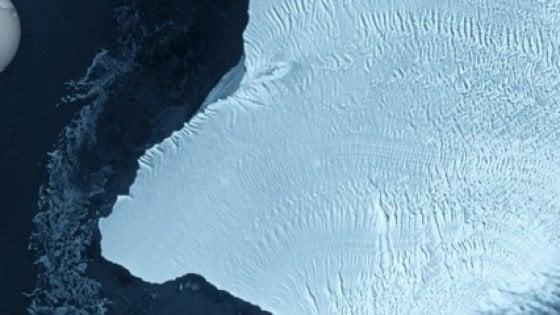 Antartide, si sta per staccare un iceberg grande come Londra