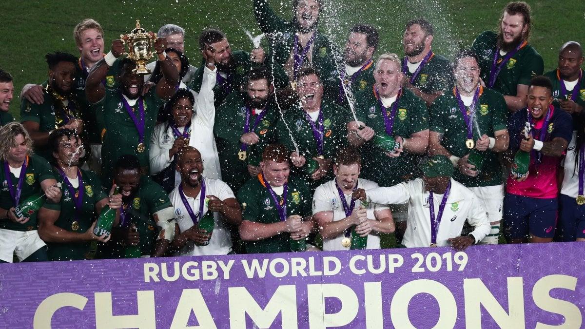 Rugby, Mondiali: il Sudafrica è campione, battuta l'Inghilterra 32-12