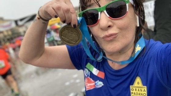"""Maria Luisa: """"Con la corsa combatto la sclerosi multipla. Ogni volta vinco la maratona"""""""