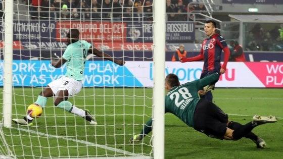 Bologna-Inter 1-2: doppio Lukaku la risolve al 92'