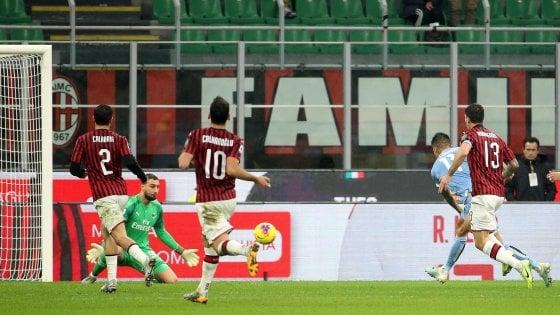 Milan-Lazio 1-2: Immobile-Correa, i biancocelesti sfatano il tab� San Siro