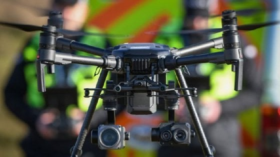In Scozia droni per trovare dispersi con il riconoscimento facciale