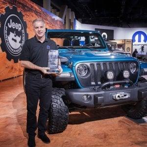 """Jeep Wrangler, che premio: è """"4x4 of the Year"""" al SEMA Show"""