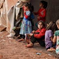 Siria, quasi 28.000 bambini di 60 paesi bloccati nel nordest: la metà ha meno di 5 anni