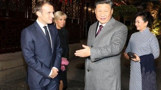 Clima, Francia e Cina firmeranno l'irreversibilità degli accordi Parigi