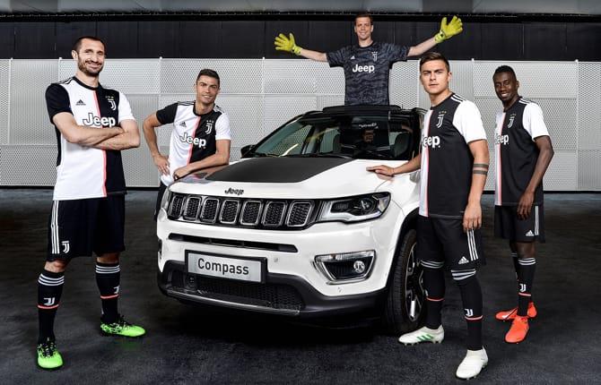Otto anni di Jeep e Juventus, nasce la Compass 122