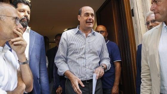 """Manovra, Zingaretti riunisce vertice del Pd alla Camera: """"Così la corda si spezza"""""""