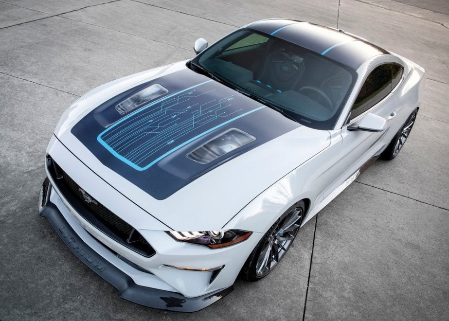 Ford Mustang Lithium Concept