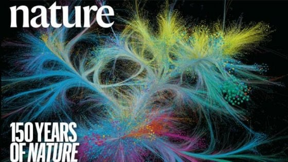 150 anni di Nature, il numero speciale del designer italiano. Cerco la bellezza nei dati