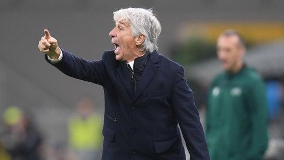 """Atalanta, Gasperini: """"Non siamo ancora morti"""". City, Guardiola: """"Futuro in Italia? Possibile"""""""