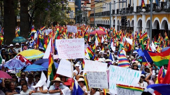 Risultati immagini per disordini in Bolivia