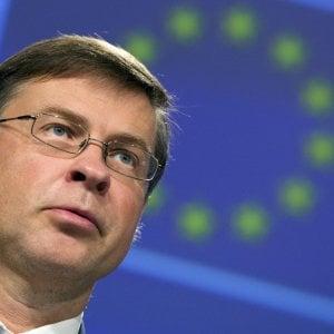 Il vice presidente della Commissione europea Valdis Dombrovskis