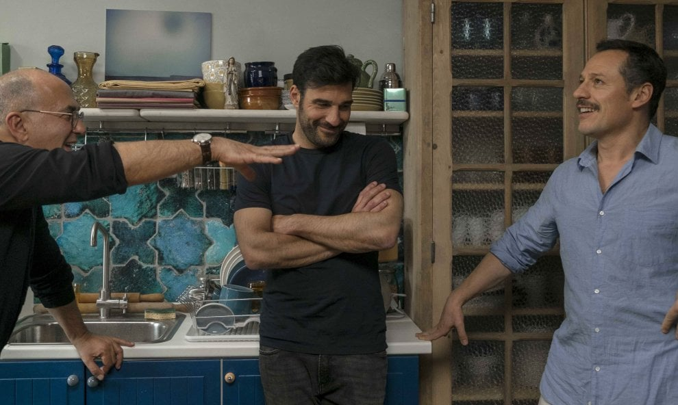 'La dea fortuna' Edoardo Leo e Stefano Accorsi nel film di Ferzan Ozpetek