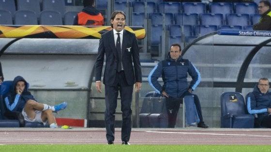 """Lazio, Inzaghi: """"Rigore clamoroso, ma dobbiamo fare mea culpa"""""""
