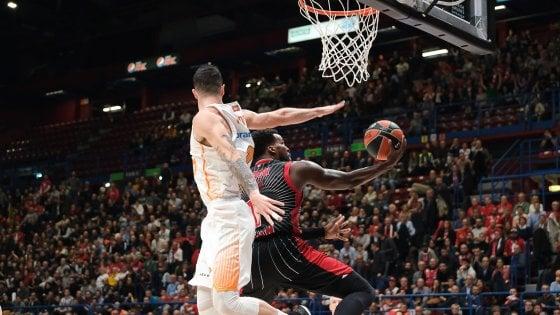 Basket, Eurolega: Milano non si ferma, 81-74 al Baskonia