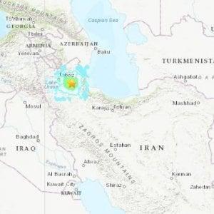 Iran: terremoto magnitudo 5,9. Almeno cinque morti e 300 feriti