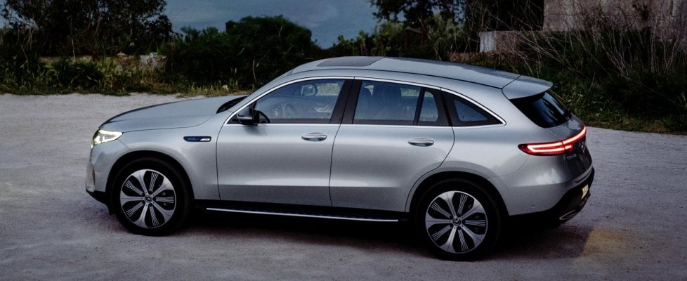 Mercedes EQC, l'elettrica più comoda del mondo