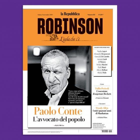 Paolo Conte per noi: Robinson sotto le stelle del jazz