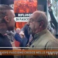 """Rissa in tv tra Vauro ed estremista di destra, il Pd: """"Mai in trasmissioni che incitano..."""