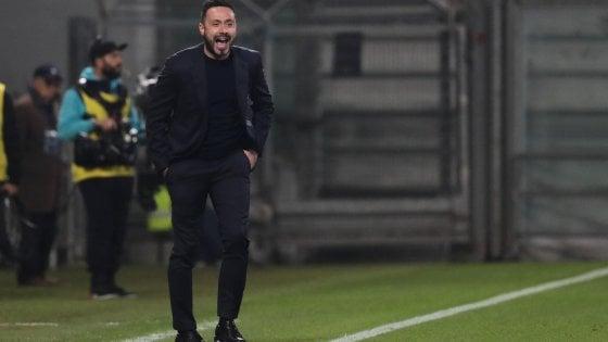 "Sassuolo, De Zerbi: ""Grande partita, stiamo tornando noi stessi"""