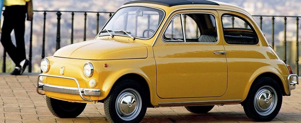 Più vecchie Fiat 500 che auto elettriche, l'incredibile primato italiano