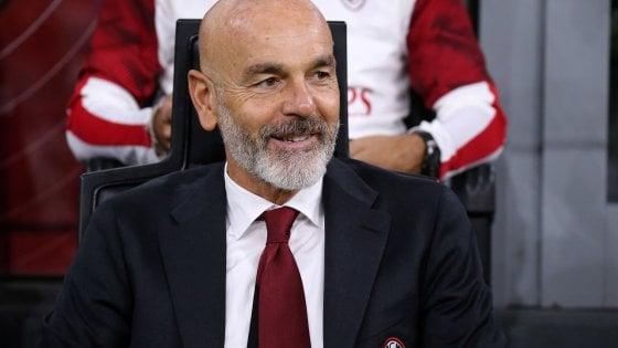 """Milan, Pioli: """"Dobbiamo fare punti, con la Juve può essere la svolta"""""""