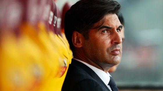 """Roma, Fonseca ha le idee chiare: """"La squadra sta bene, non serve cambiare"""""""