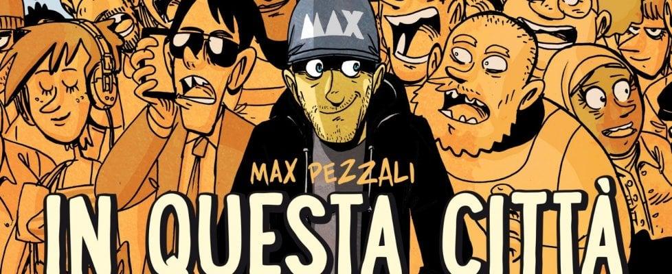 Max Pezzali canta Roma: Zerocalcare lo ringrazia disegnando la copertina