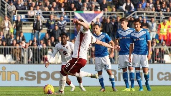 Brescia-Torino 0-4: Belotti e Berenguer rilanciano i granata
