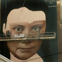 """San Francisco, un murale per Greta Thunberg. """"Un esempio per tutti, diamoci da fare"""""""